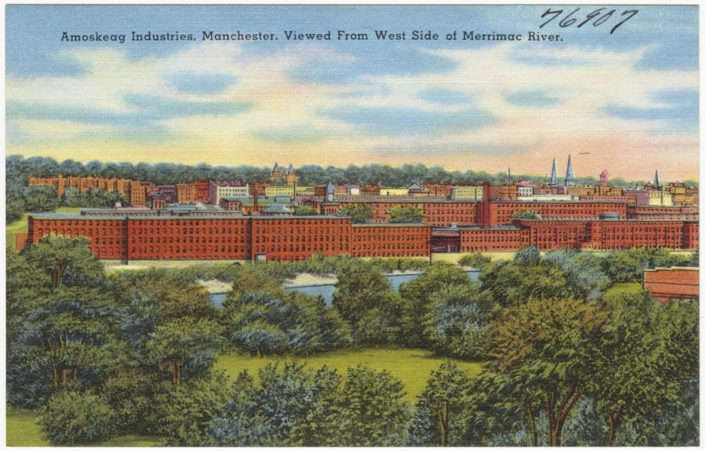 Manchester New Hampshire Amoskeag 1930-1945